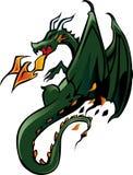 Dragon tattoo style royalty free stock image