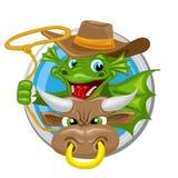 Dragon Taurus Zodiac-teken Stock Fotografie