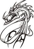 Dragon Template. Royalty Free Stock Photos