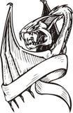 Dragon Template. Royalty Free Stock Photo