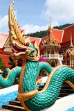Dragon Temple à Phuket Image stock