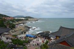 Dragon Temple in Busan, South Korea Royalty Free Stock Photography
