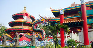 Dragon Temple Indonesia Stock Photo