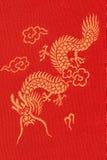 Dragon Textile Stock Image
