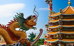 Dragon. Of thailand stock photos