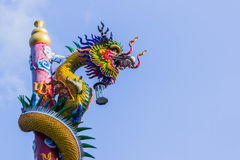 The Dragon in thailand. Stock Photo