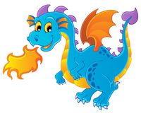 Dragon theme image 4 Stock Photography