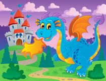 Dragon theme image 5 Royalty Free Stock Images
