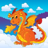 Dragon theme image 8 Royalty Free Stock Images