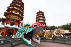 Dragon Tiger Tower Royalty Free Stock Image