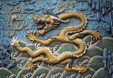 Dragon tiles Stock Photos