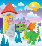 Dragon topic image 1 Stock Photography