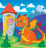 Dragon topic image 2 Stock Photography