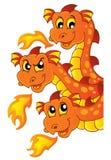 Dragon topic image 3 Stock Photography