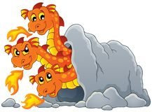 Dragon topic image 7 Royalty Free Stock Photography