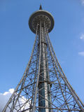Dragon Tower in Harbin. Television tower, the tallest steel TV tower in Asia Stock Photos