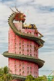 The dragon tower Stock Images