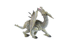 Dragon toy on isolated Royalty Free Stock Images
