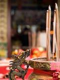 Dragon Urn Stock Photo