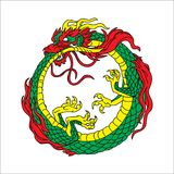 Dragon Vector Chinese Culture Photo libre de droits