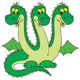 Dragon (vector clip-art) stock photos