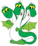 Dragon (vector clip-art) stock images
