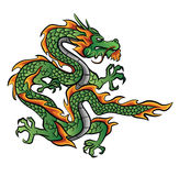 Dragon Vector Illustration Photo stock