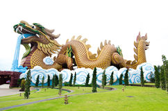 Dragon Village Stock Images