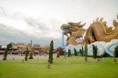 Dragon Village Stock Photography