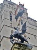 Dragon, ville de Londres, Angleterre Images libres de droits