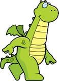 Dragon Walking Royalty Free Stock Image