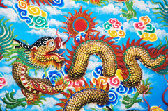 Dragon Wall Photographie stock