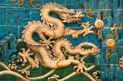 Dragon wall Royalty Free Stock Photo