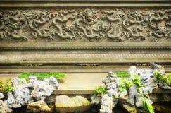 Dragon Wall Royalty-vrije Stock Afbeelding
