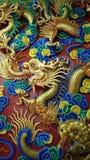 Dragon Wall Fotografia Stock Libera da Diritti
