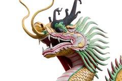 Dragon at wat hyua pla kang Royalty Free Stock Photos