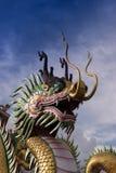 Dragon at wat hyua pla kang Stock Photography