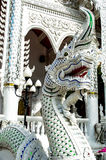 Dragon from wat thai. In thailand Stock Photos