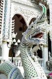 Dragon from wat thai. In thailand stock photos