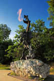 The Dragon of Wawel Hill next to the Wawel Castle in Krakow, Poland Royalty Free Stock Images