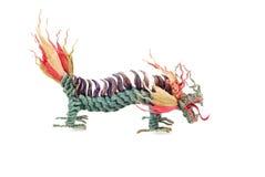 Dragon on white background Royalty Free Stock Photo