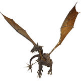 Dragon with wings Stock Images