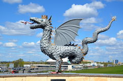 Dragon Zilant royalty free stock photography
