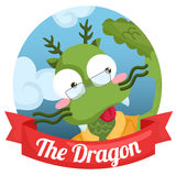 The Dragon stock illustration