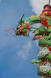 dragon03 ναός Στοκ Φωτογραφία
