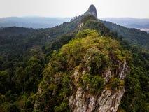 Dragonback Ridge Arkivbild