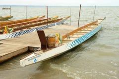 Dragonboat-Rennen stockbilder