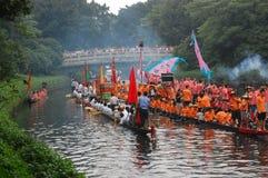 Dragonboat tradicional Foto de Stock Royalty Free
