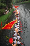 Dragonboat tradicional Imagem de Stock Royalty Free