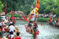 Dragonboat traditionnel Photos libres de droits